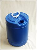 5 Gallon Blue High Density Polyethylene Plastic Carboys